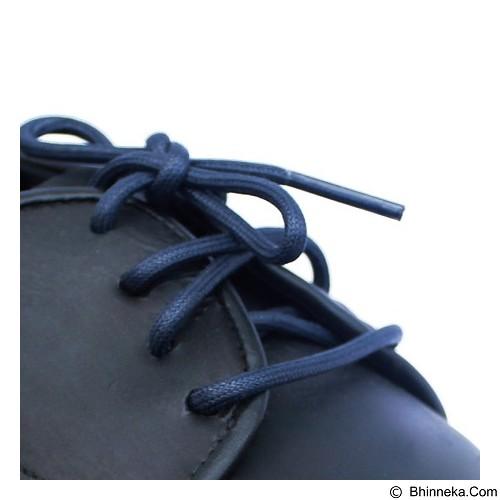 MR SHOELACES Tali Sepatu Lilin Bulat [RD04090] - Dark Blue (Merchant) - Tali Sepatu Pria