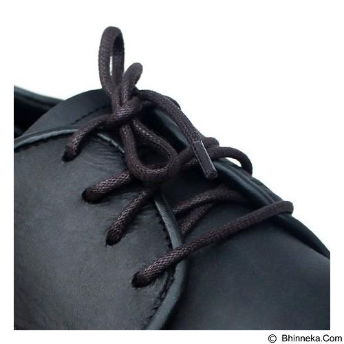 MR SHOELACES Tali Sepatu Lilin Bulat [RD05080] - Dark Brown (Merchant) - Tali Sepatu Pria