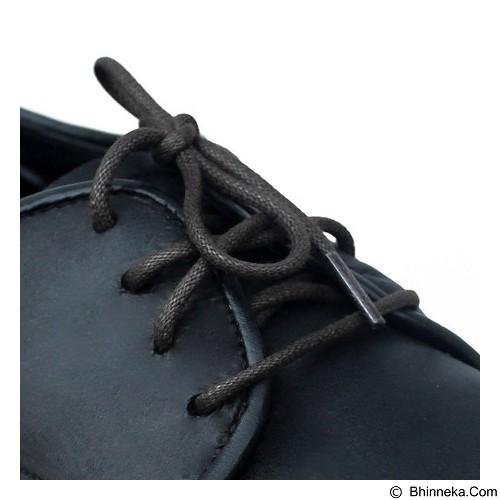 MR SHOELACES Tali Sepatu Lilin Bulat [RD06080] - Dark Gray (Merchant) - Tali Sepatu Pria
