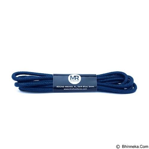 MR SHOELACES Tali Sepatu Lilin Bulat Besar [RB03075] -  Dark Blue (Merchant) - Tali Sepatu Pria