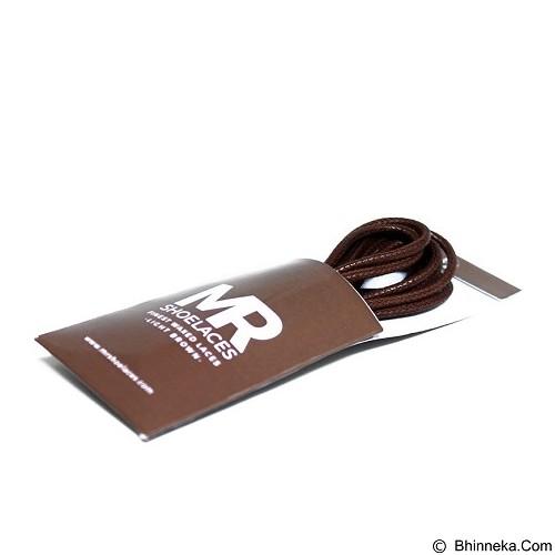 MR SHOELACES Tali Sepatu Lilin Bulat [RD10110] - Light Brown (Merchant) - Tali Sepatu Pria