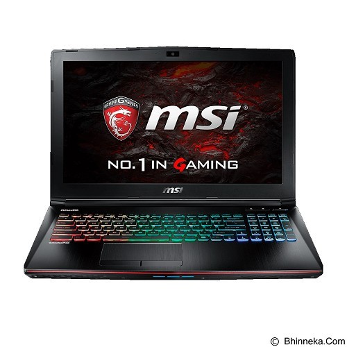 MSI GE62VR 6RF Apache Pro - Black (Merchant) - Notebook / Laptop Gaming Intel Core I7