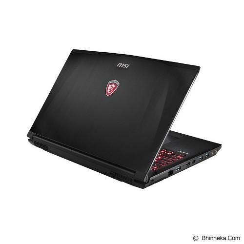 MSI GE62 2QE Apache Pro FHD - Black - Notebook / Laptop Gaming Intel Core I7