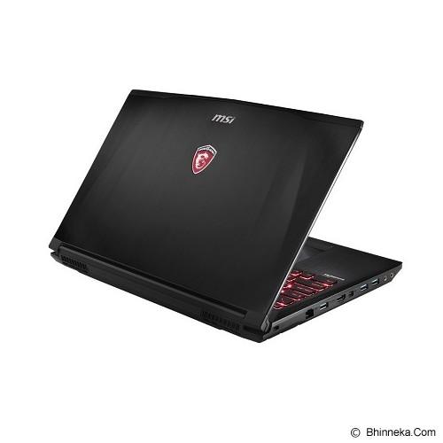 MSI GE62 2QE Apache Pro FHD - Black - Notebook / Laptop Gaming Intel Core I7