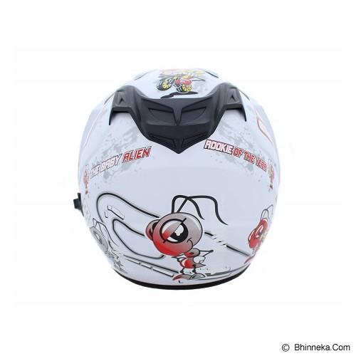 MSR Helmet Impressive Double Visor Size L [93] - Putih - Helm Motor Half Face