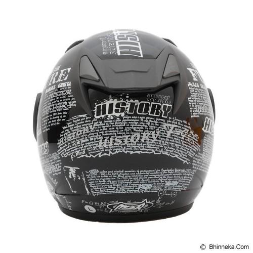 MSR Helmet Javelin History Size L - Hitam - Helm Motor Half Face