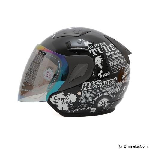 MSR Helmet Javelin History Size XL - Hitam - Helm Motor Half Face