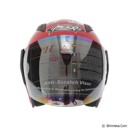MSR Helmet Javelin Original Size M - Merah - Helm Motor Half Face