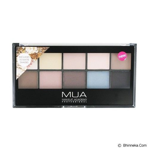 MUA COSMETIC Palette Matte - Eye Shadow