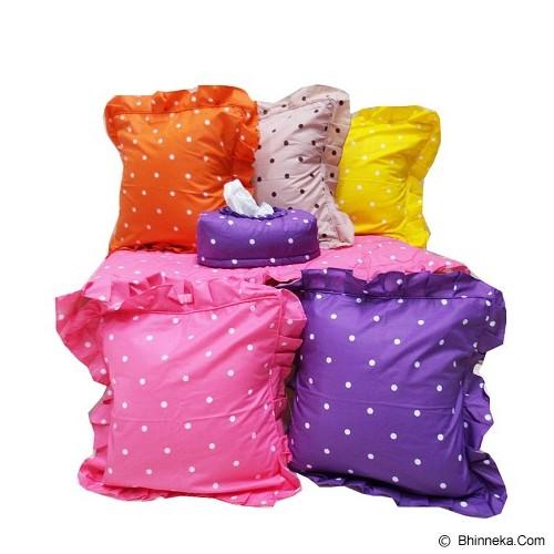 MUGUNGHWA Living Room Set Rainbow - Pink - Sarung Bantal