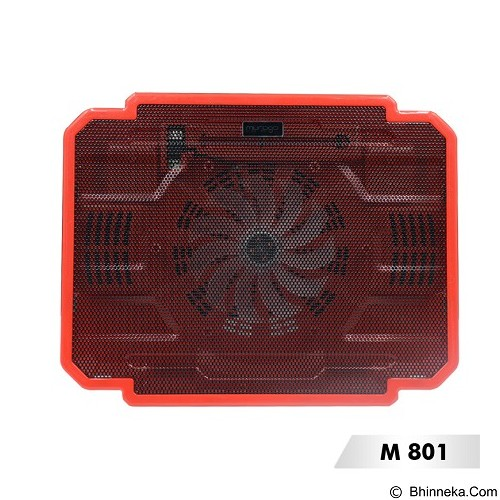 MURAGO Cooler [M801] - Red - Notebook Cooler