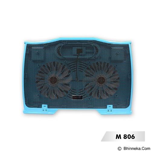 MURAGO Cooler [M806] - Blue - Notebook Cooler