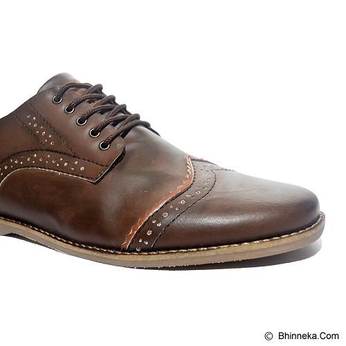 MURDOOCK 1992 Wesley Brogue Size 40 - Brown Leather - Sepatu Kerja Formal Pria