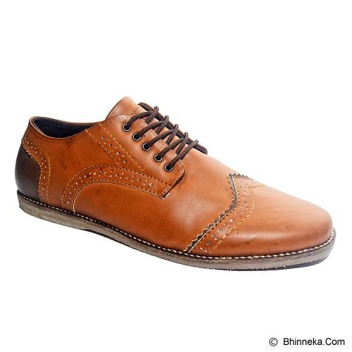 MURDOOCK 1992 Wesley Brogue Size 42 - Tan Leather - Sepatu Kerja Formal Pria