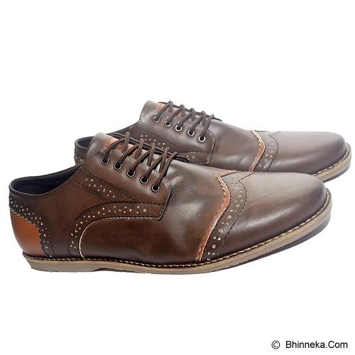 MURDOOCK 1992 Wesley Brogue Size 43 - Brown Leather - Sepatu Kerja Formal Pria