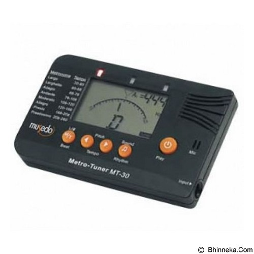 MUSEDO Chromatic Metro Tuner MT-30 (Merchant) - Tuner Portable