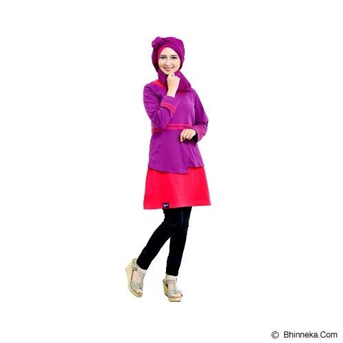 MUTIF Blus Size XL [M 93] - Purple/Magenta - Blouse dan Tunik Wanita