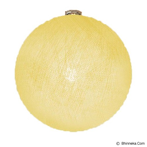 MY JADE! STUFF Big Cotton Ball 10'' - Creme - Lampu Gantung