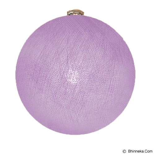 MY JADE! STUFF Big Cotton Ball 10'' - Lavender - Lampu Gantung