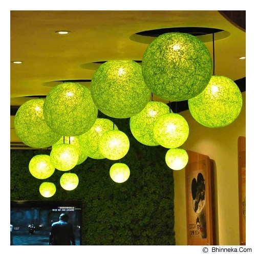 MY JADE! STUFF Big Cotton Ball 10'' - Lime - Lampu Gantung