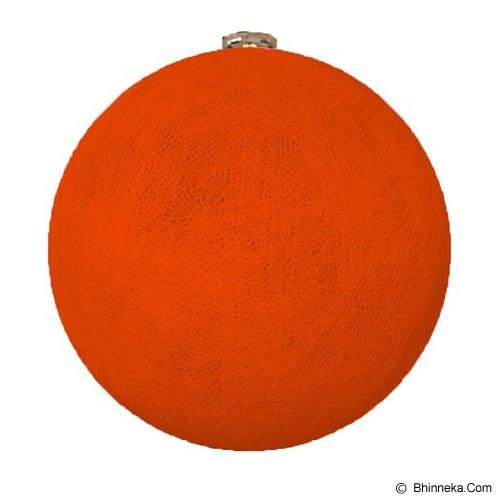 MY JADE! STUFF Big Cotton Ball 10'' - Orange - Lampu Gantung