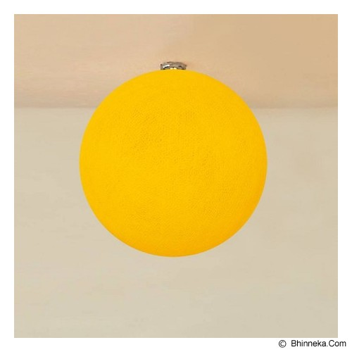 MY JADE! STUFF Big Cotton Ball 10'' - Sun Flower - Lampu Gantung