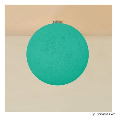 MY JADE! STUFF Big Cotton Ball 10'' - Turqoise - Lampu Gantung