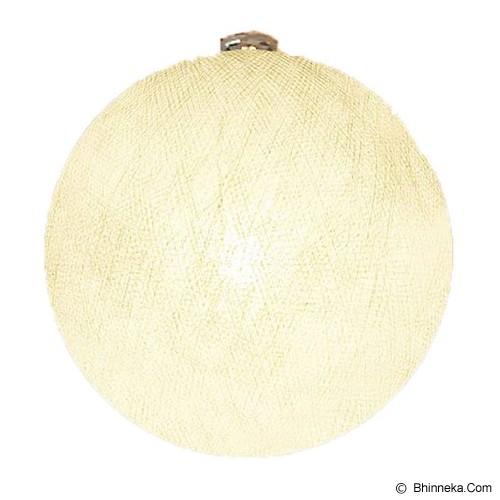 MY JADE! STUFF Big Cotton Ball 12'' - Ivory - Lampu Gantung