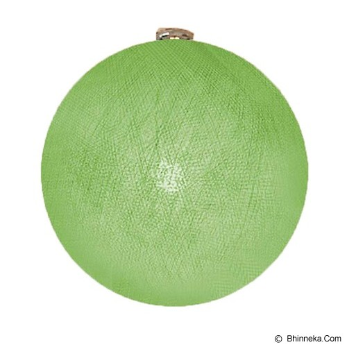 MY JADE! STUFF Big Cotton Ball 12'' - Lime - Lampu Gantung