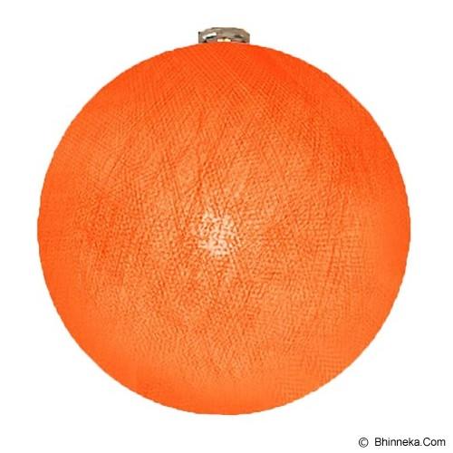 MY JADE! STUFF Big Cotton Ball 12'' - Orange - Lampu Gantung