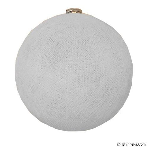 MY JADE! STUFF Big Cotton Ball 12'' - Pale Grey - Lampu Gantung