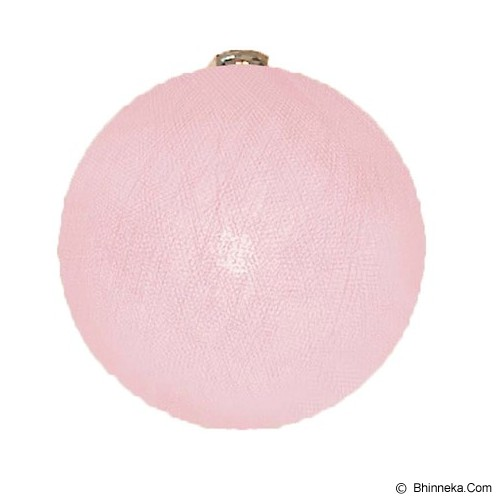MY JADE! STUFF Big Cotton Ball 12'' - Pale Pink - Lampu Gantung