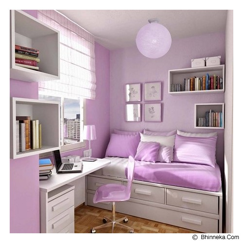 MY JADE! STUFF Big Cotton Ball 12'' - Pale Purple - Lampu Gantung