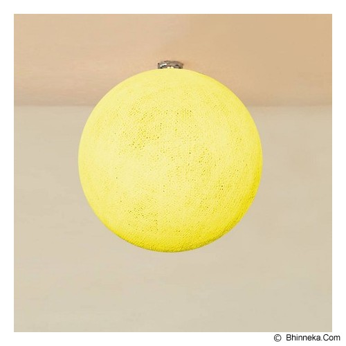 MY JADE! STUFF Big Cotton Ball 12'' - Pale Yellow - Lampu Gantung