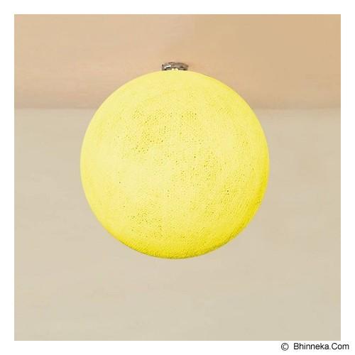 MY JADE! STUFF Big Cotton Ball 12'' - Pale Yellow - Lampu Gantung