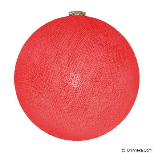 MY JADE! STUFF Big Cotton Ball 12'' - Red - Lampu Gantung