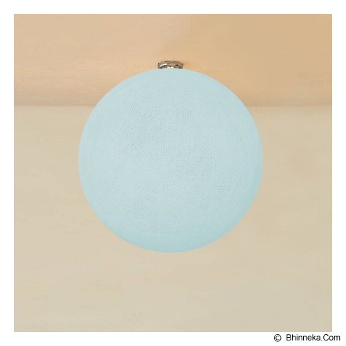 MY JADE! STUFF Big Cotton Ball 12'' - Sky Blue - Lampu Gantung