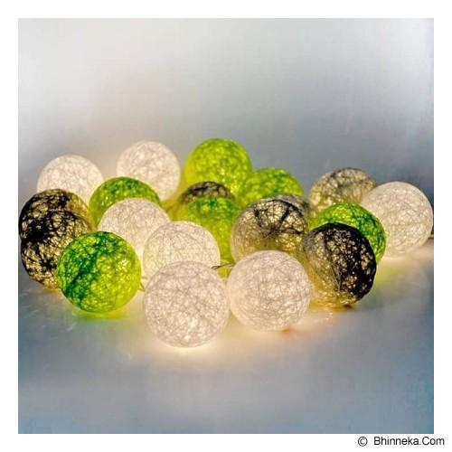 MY JADE! STUFF Cotton Ball Light - Apple Grey - Lampu Gantung