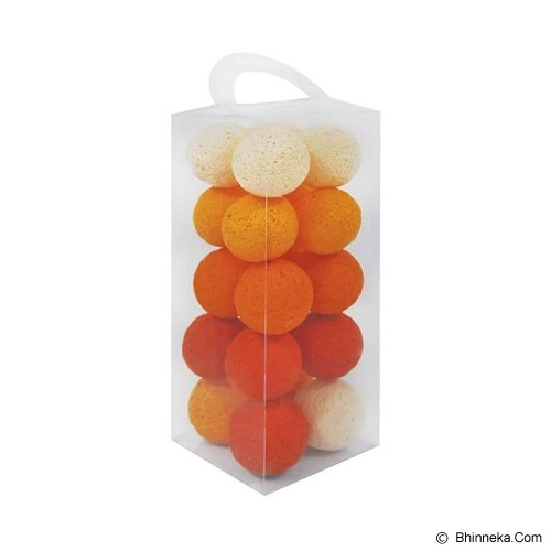 MY JADE! STUFF Cotton Ball Light - Orange Tone - Lampu Gantung
