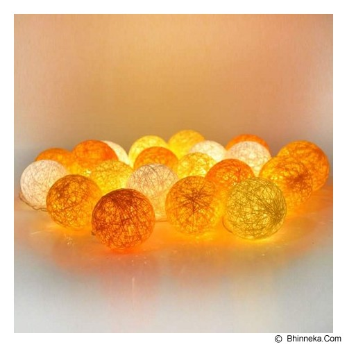 MY JADE! STUFF Cotton Ball Light - Yellow Tone - Lampu Gantung