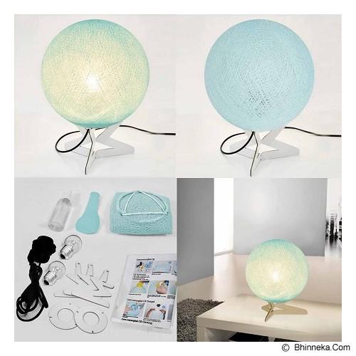 MY JADE! STUFF Cotton Table Lamp - Aqua - Lampu Meja