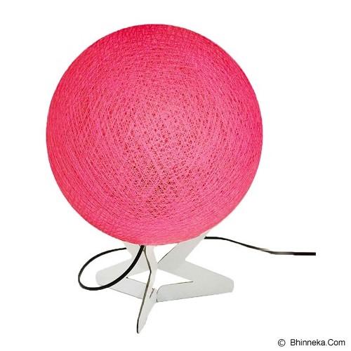 MY JADE! STUFF Cotton Table Lamp - Fuschia - Lampu Meja