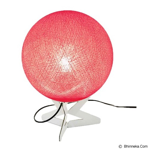 MY JADE! STUFF Cotton Table Lamp - Fuschia - Lampu Meja