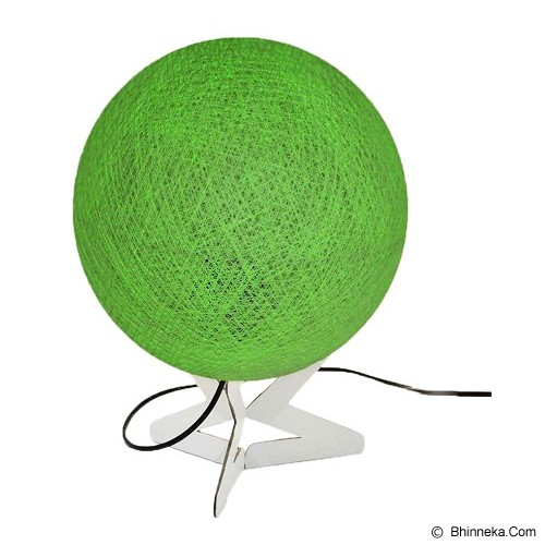 MY JADE! STUFF Cotton Table Lamp - Lime - Lampu Meja