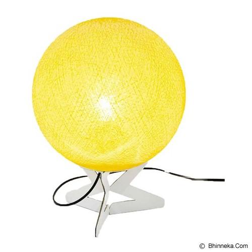 MY JADE! STUFF Cotton Table Lamp - Pale Yellow - Lampu Meja