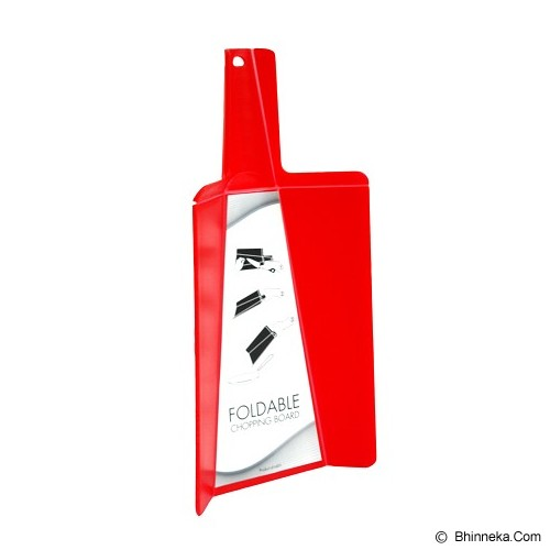 MY KITCHEN HELPER Talenan Lipat - Red - Talenan / Papan Potong / Cutting Board