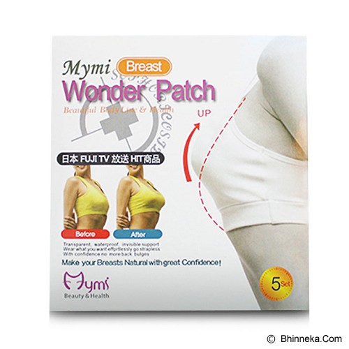 MYMI Breast Wonder Patch - Terapi Fisiologis Wanita