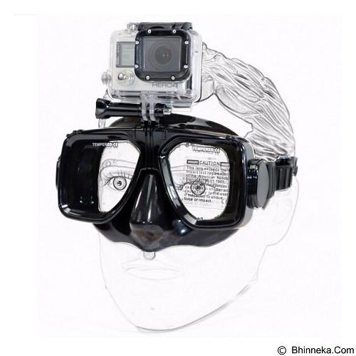 MYYTA19 Anti-Fog Diving Swimming Goggles Glasses for GoPro/Xiaomi Yi/Xiaomi Yi 2 4K/SJCAM - Black (Merchant) - Camcorder Mounting