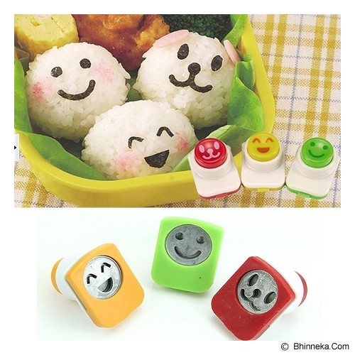 MYYTA19 Smiley Face Onigiri Ball Sushi Tool Set Roll Making Kit - Cetakan Kue