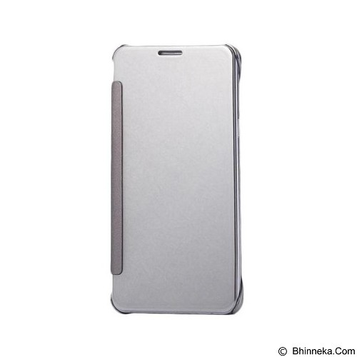 Mirror Wallet View Flip Cover Samsung Galaxy S6 Edge - Silver (Merchant) - Casing Handphone / Case